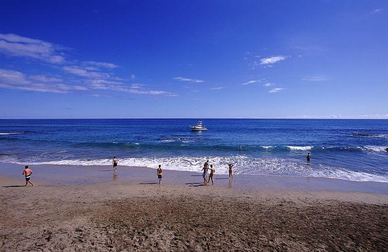Formosa Beach in Santa Maria Islands, in the Azores