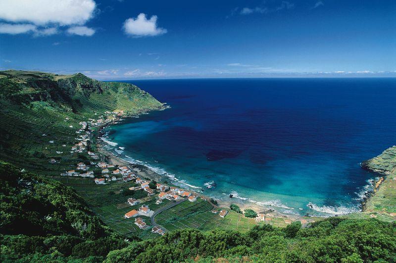Praia Formosa in Santa Maria Islands, the Azores