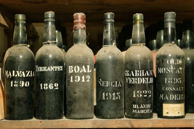 VintageBottles - Photo credit to Associacao de Promocao da Madeira