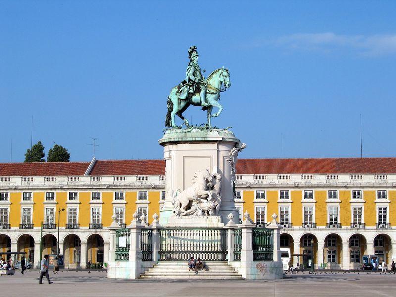 Praça do Comércio H-000179 by Turismo de Lisboa