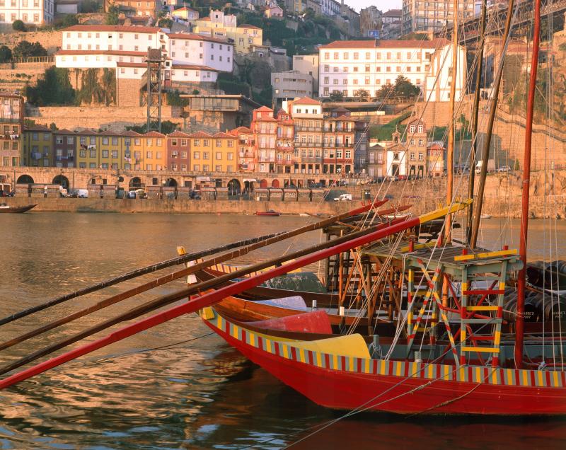 Rabelo boat at Douro river in Porto by Joao Paulo - T09AZH0B