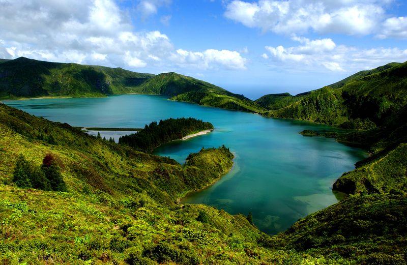 Landscape in Sao Miguel island  - T09AUH3L by Associacao de Turismo dos Açores