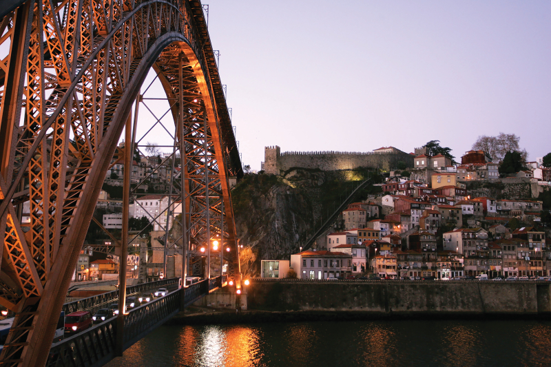 Porto bridge - Photo credit to The Yeatman Hotel