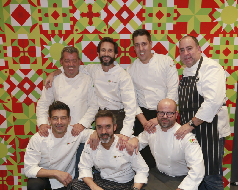 TAP Taste the Stars Chefs