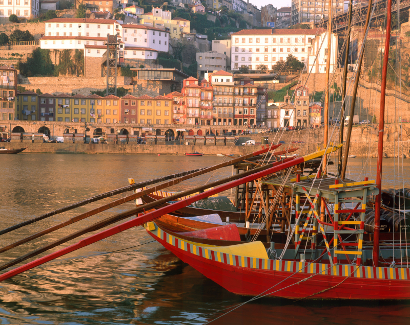 Rabelo boat at Douro river in Porto by Joao Paulo - T09AZH0B